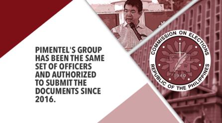 PIMENTEL-LED GROUP IS LEGITIMATE SET OF PDP-LABAN OFFICERS – SUPREME COURT
