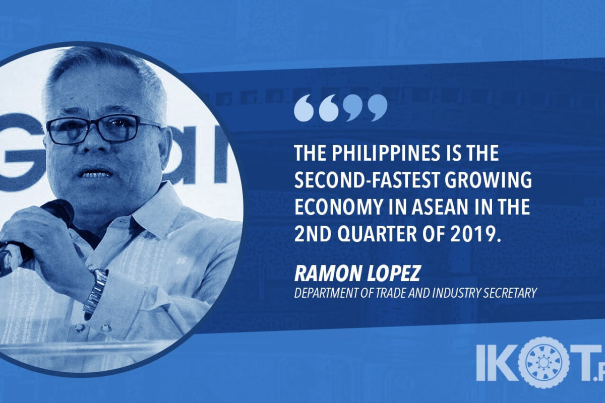 MANUFACTURING SECTOR REMAINS RESILIENT AMID GLOBAL SLOWDOWN – LOPEZ