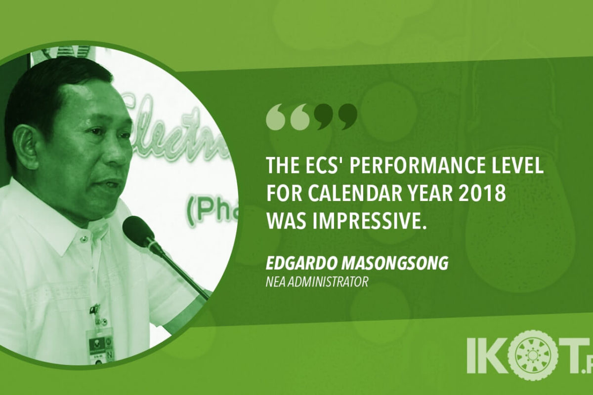 RESULTS OF 2018 EC OVERALL PERFORMANCE ASSESSMENT RELEASED — NEA