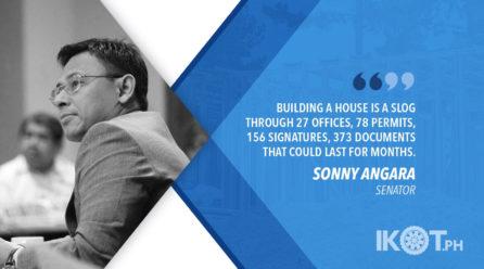 SIMPLIFY PROCESS FOR MASS HOUSING – ANGARA
