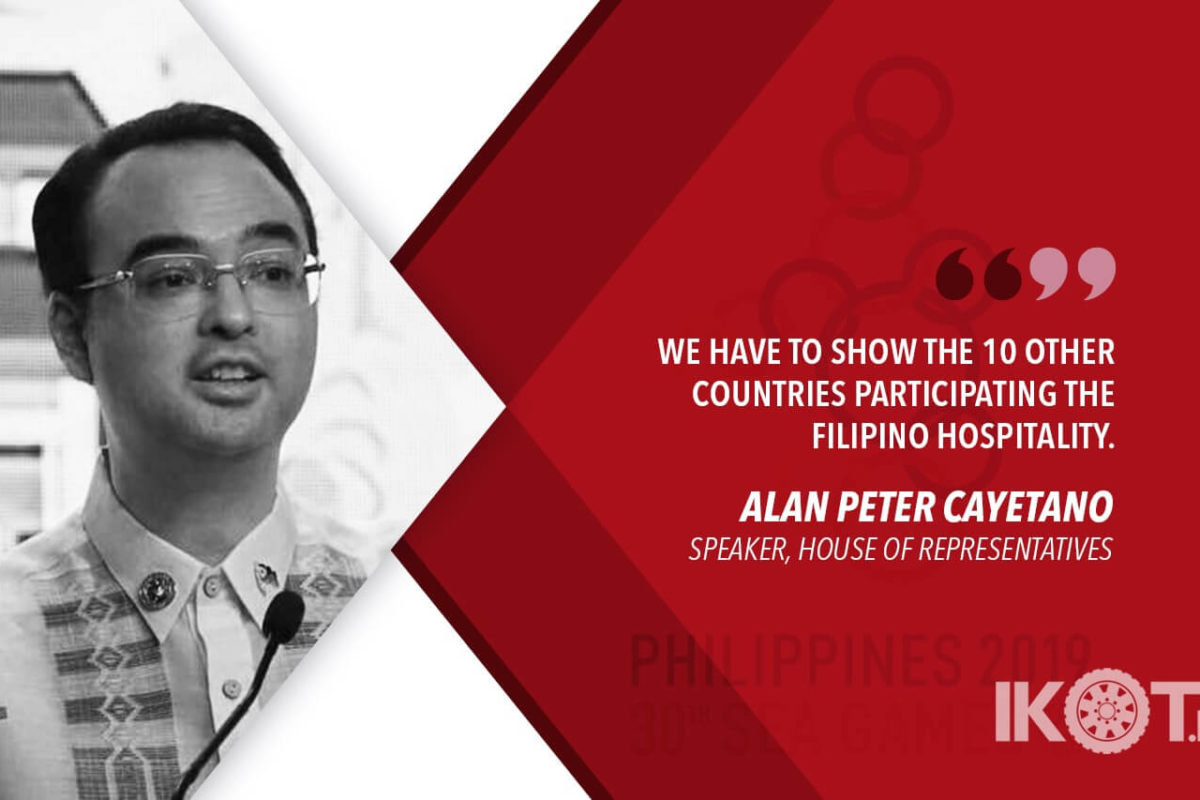THE PHILIPPINES IS 100% READY TO HOST 30TH SEA GAMES – CAYETANO