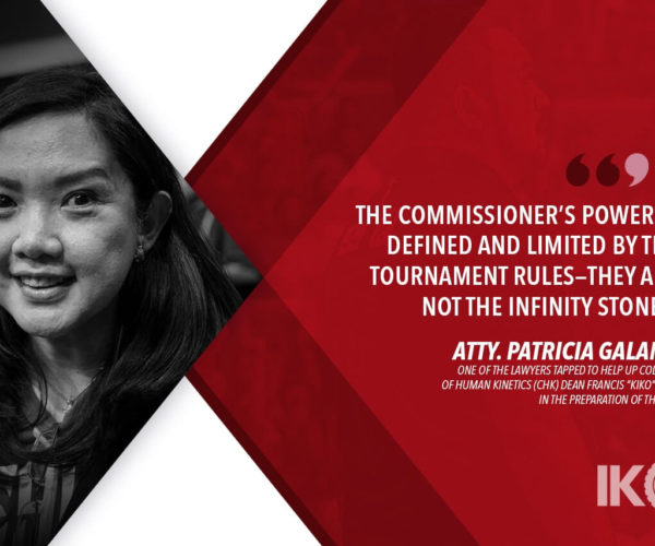 UAAP Tournament Commissioner not 'all-powerful' says Maroons lawyer