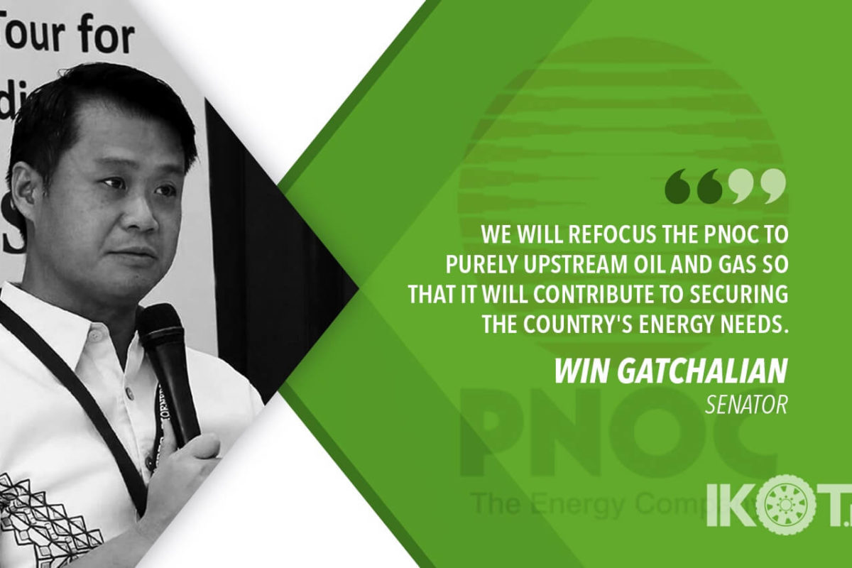 TIME TO RESTRUCTURE PNOC – GATCHALIAN