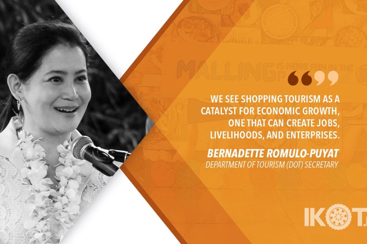DOT LAUNCHES SHOPPING TOURISM CAMPAIGN – ROMULO-PUYAT