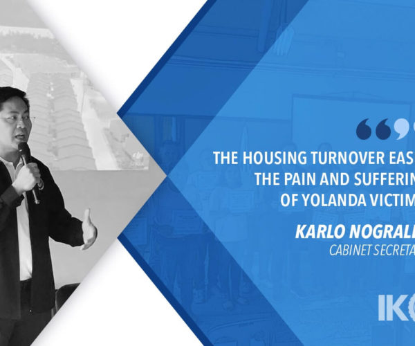 YOLANDA HOUSING FOR REGION 6 TOWNS 100% COMPLETE — NOGRALES