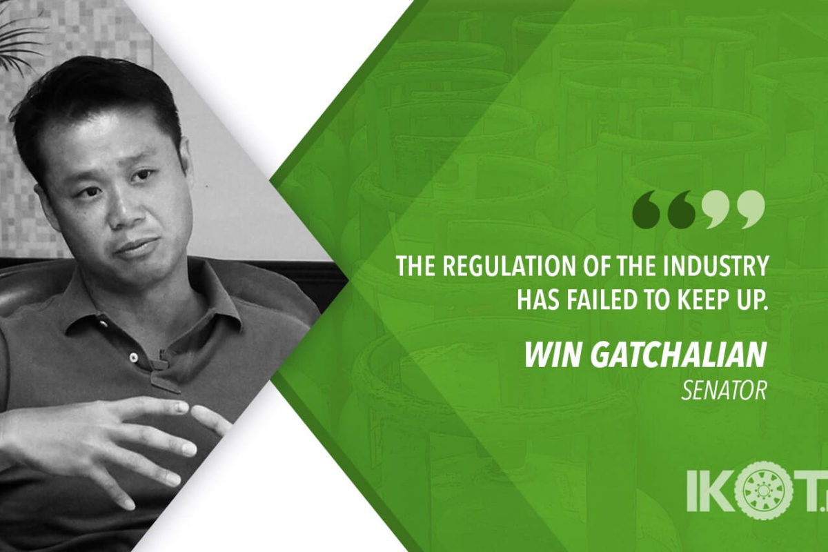 INSTITUTE REFORMS IN LPG INDUSTRY – GATCHALIAN