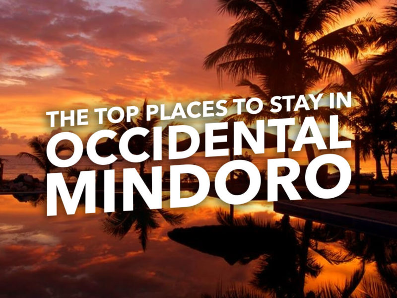 THE TOP PLACES TO STAY IN OCCIDENTAL MINDORO