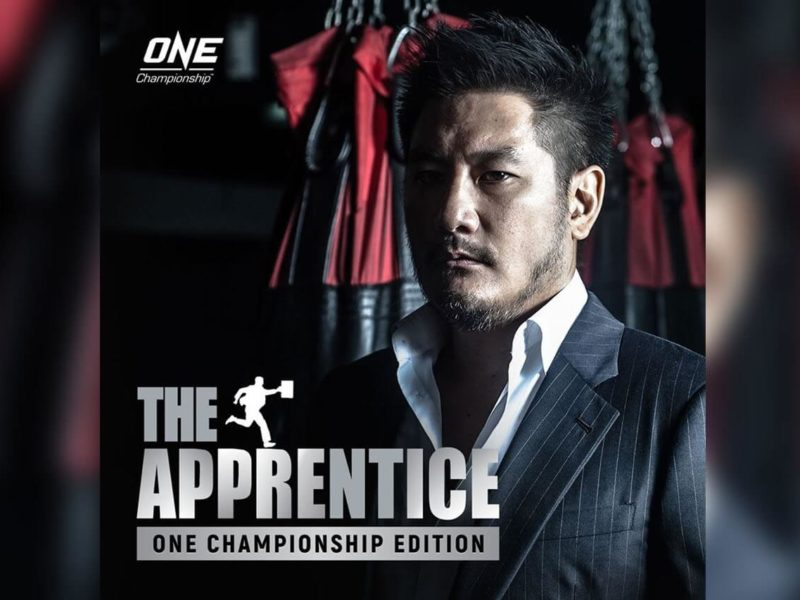 ONE CHAMPIONSHIP TO LAUNCH A UNIQUE FORMAT OF 'THE APPRENTICE'