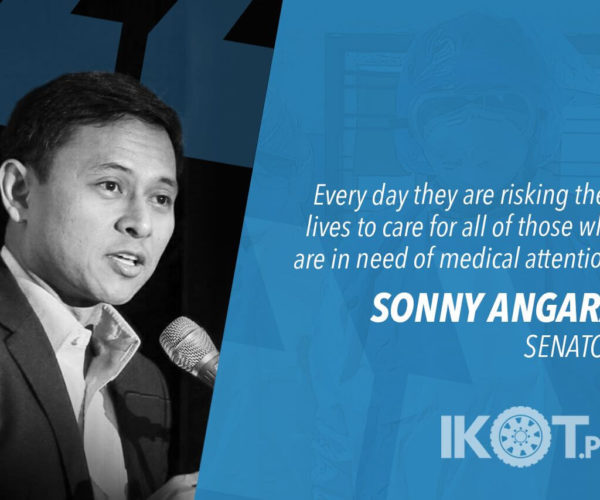 PROTECT FRONTLINERS FROM DISCRIMINATION – ANGARA