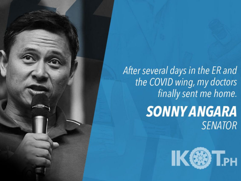 I AM NEGATIVE FOR THE COVID-19 VIRUS – ANGARA