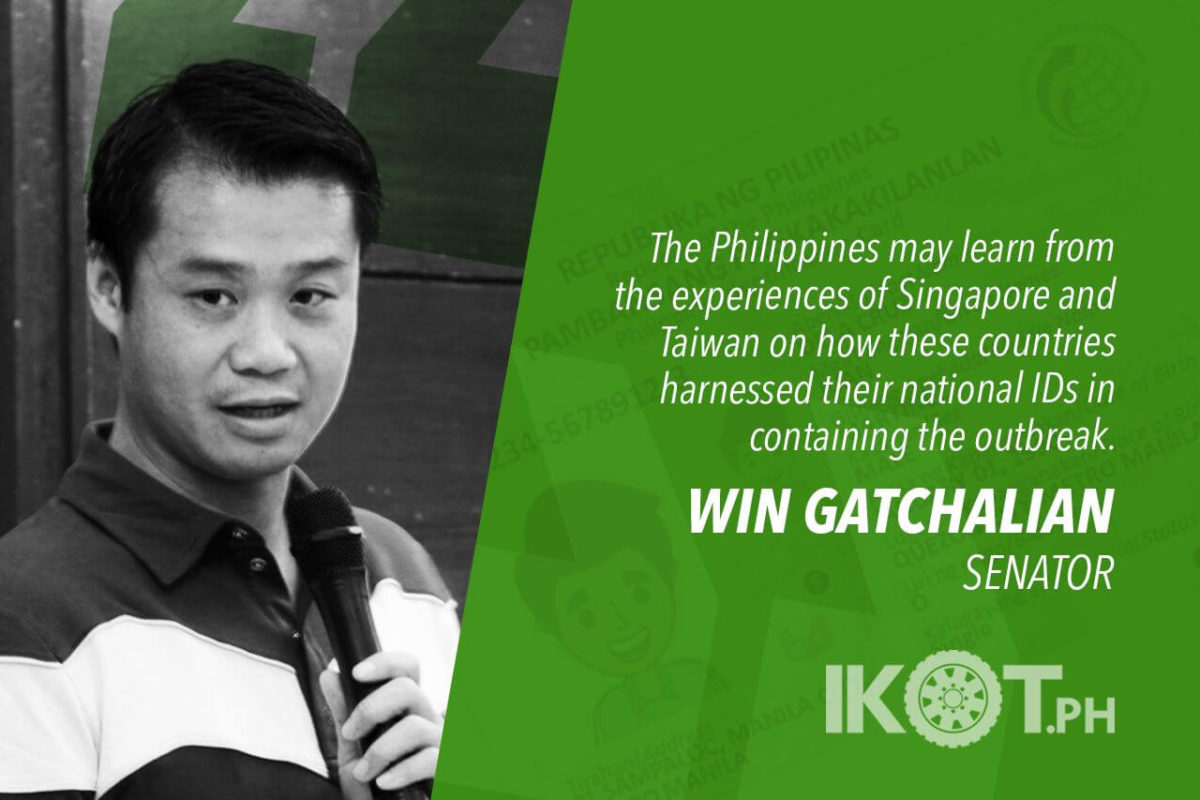 IMPLEMENT NAT'L ID SYSTEM FOR QUICKER HEALTH, CALAMITY RESPONSE – GATCHALIAN