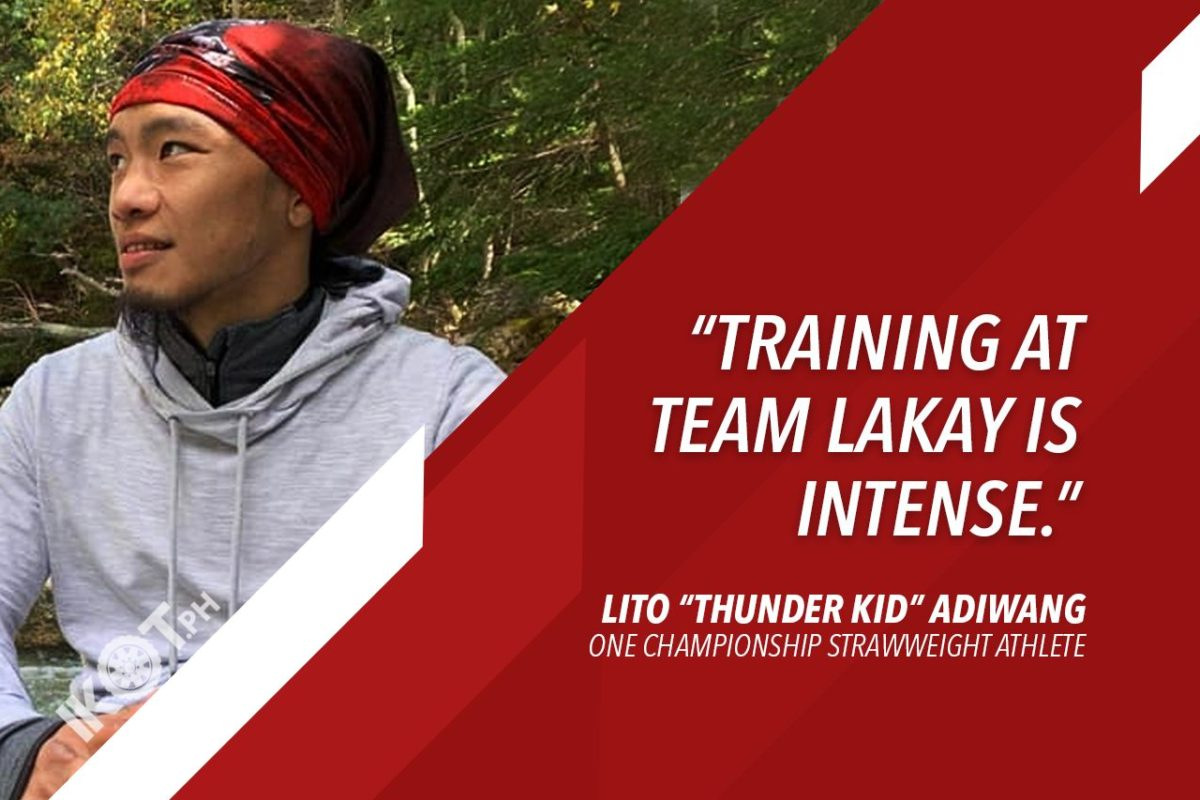 INTENSE TEAM LAKAY TRAINING FURTHER TOUGHENS LITO  ADIWANG; 'THUNDER KID' SETS SIGHTS ON WORLD TITLE