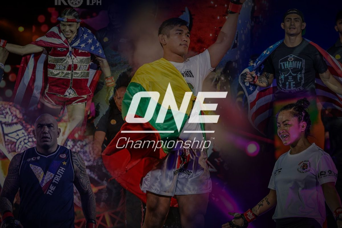 THE RISE OF ASIAN-AMERICAN MARTIAL ARTS ATHLETES IN ONE CHAMPIONSHIP