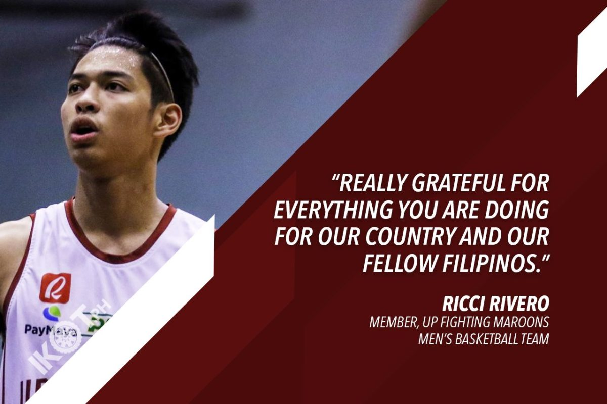 UP FIGHTING MAROONS CHEER UP FRONTLINERS WITH ZOOMUSTAHAN