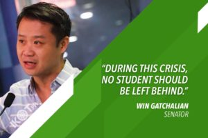 ESTABLISH 'NEW NORMAL' IN EDUCATION – GATCHALIAN