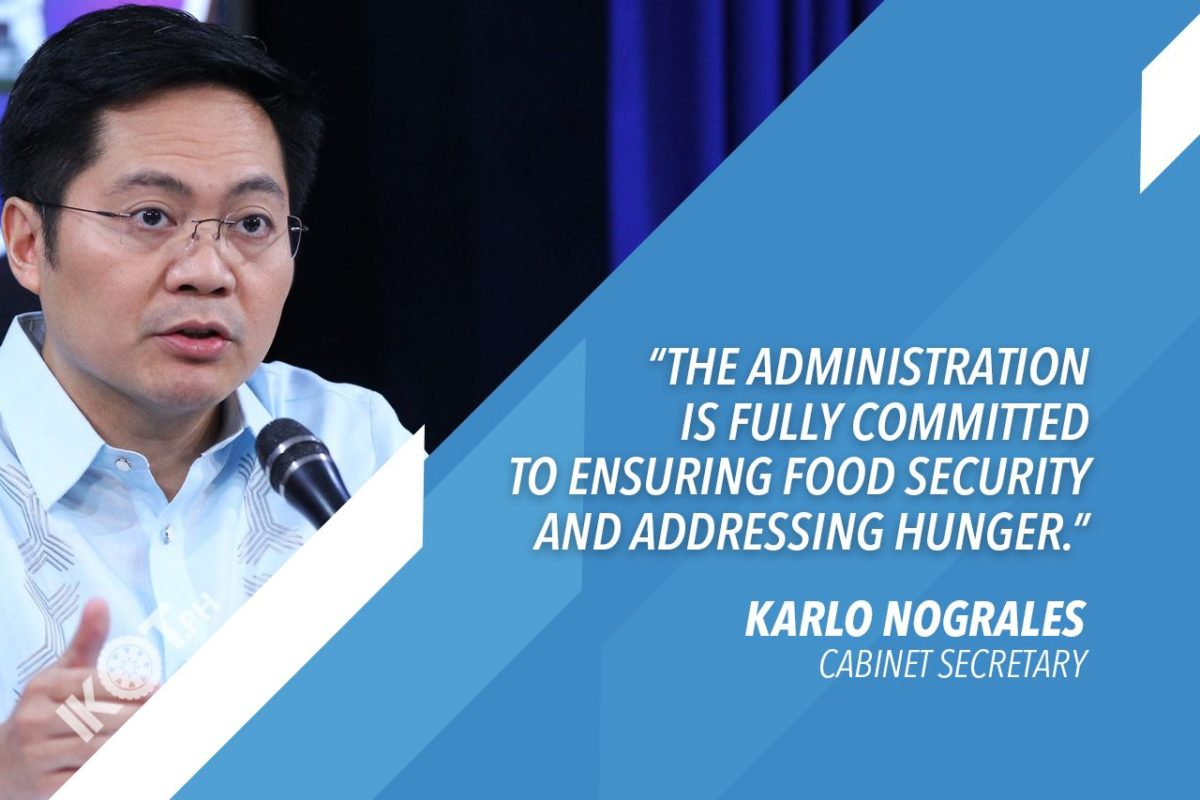 ANTI-HUNGER PROGRAM LAUNCHED IN CENTRAL LUZON TO BENEFIT FARMERS – NOGRALES