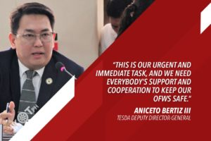 BERTIZ TO GOV'T: RESCUE, REPATRIATE MIGRANT WORKERS STRANDED BY PANDEMIC