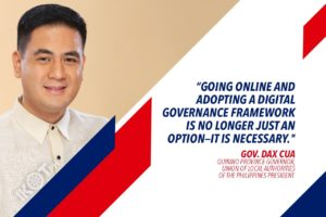 LOCAL GOV'TS SHOULD SERVE ONLINE IN THE 'BETTER NORMAL' – CUA