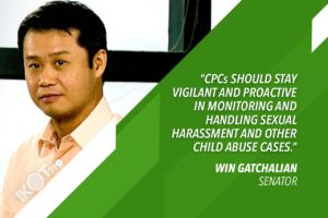 GATCHALIAN: MOBILIZE CHILD PROTECTION COMMITTEES VS STUDENT ABUSE