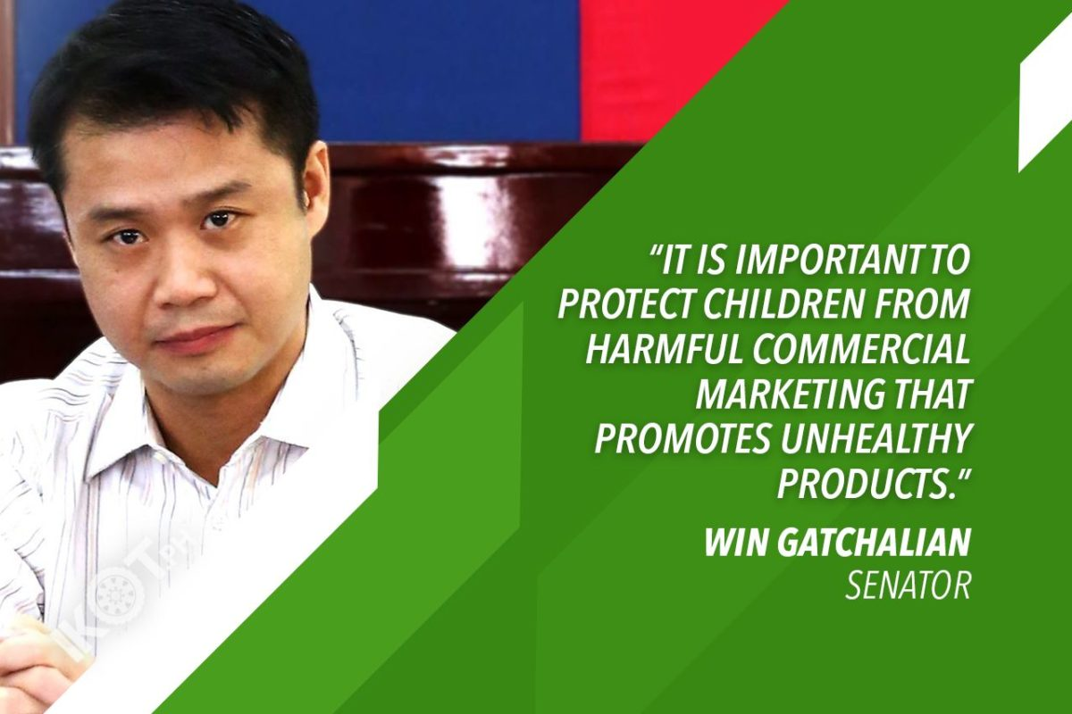 GATCHALIAN : HEALTHY EATING HABITS TO PROTECT CHILDREN FROM COVID-19 THREAT