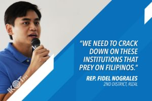RIZAL SOLON URGES GOV'T TO BOOST FINANCIAL LITERACY DRIVE AMID PANDEMIC