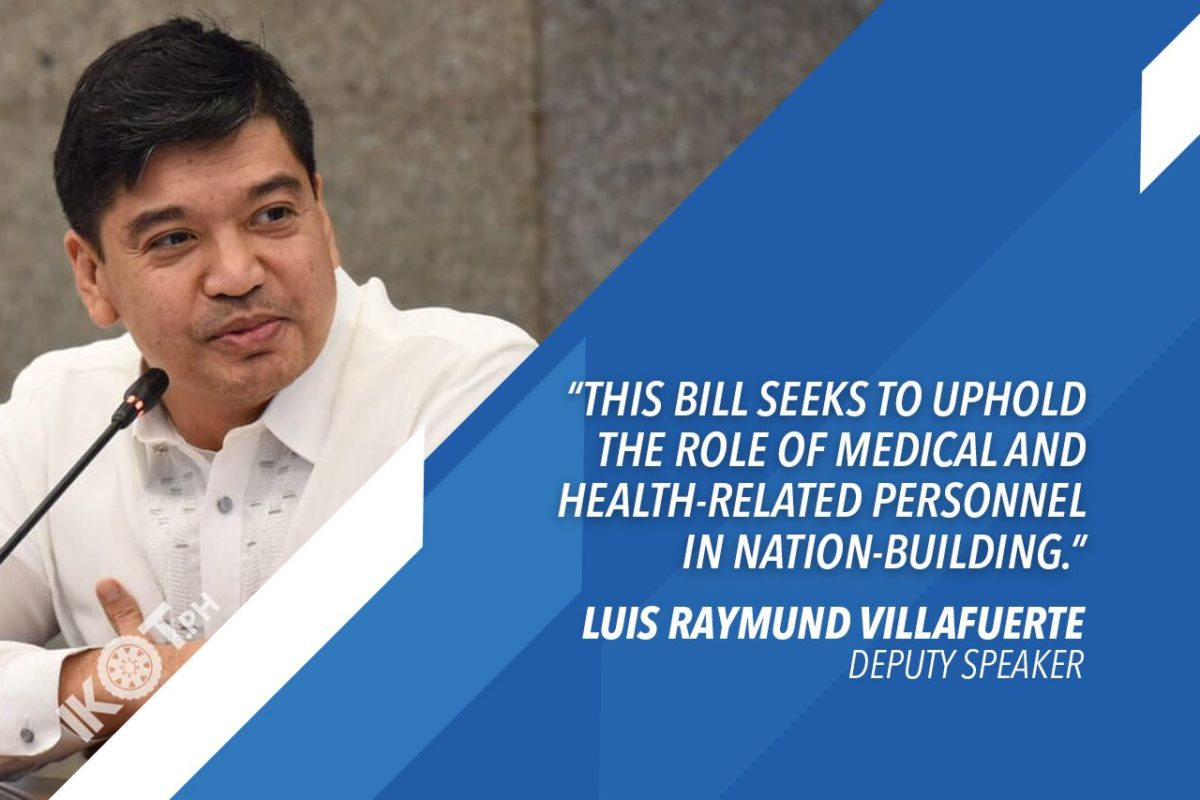 VILLAFUERTE WANTS MEDICAL RESERVE CORPS TO SUPPORT FRONTLINERS DURING HEALTH CRISES