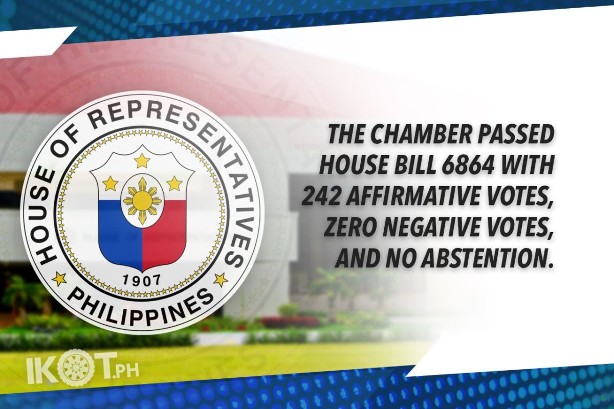 HOUSE APPROVES 'BETTER NORMAL' BILL