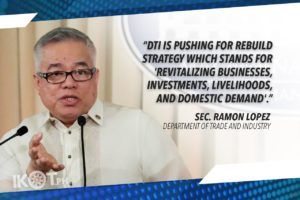SAFE, GRADUAL REOPENING OF BUSINESSES WILL HELP ECONOMY RECOVER – LOPEZ