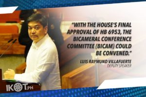 "VILLAFUERTE TO SENATE: PASS ""BETTER NORMAL"" BILL; HOPES FOR EARLY CONGRESSIONAL OK OF BAYANIHAN 2"