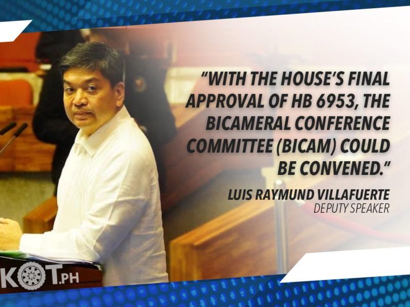"""VILLAFUERTE TO SENATE: PASS """"BETTER NORMAL"""" BILL; HOPES FOR EARLY CONGRESSIONAL OK OF BAYANIHAN 2"""