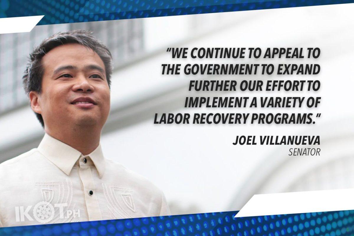 DOLE'S P5B SUPPLEMENTAL BUDGET FOR OFW REPATRIATION WILL GO A LONG WAY – VILLANUEVA