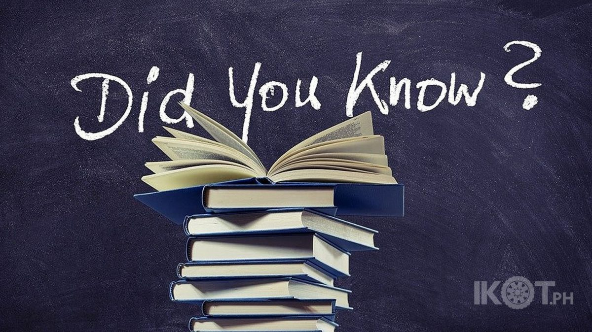 Books with line Did You Know?