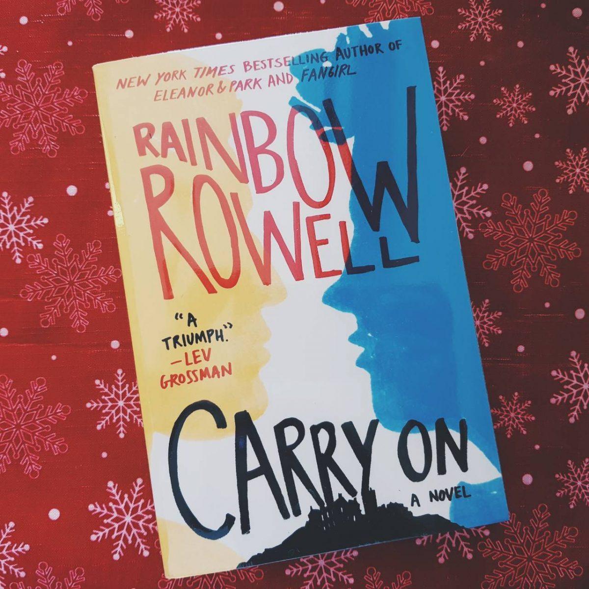 carry on rainbow rowell book