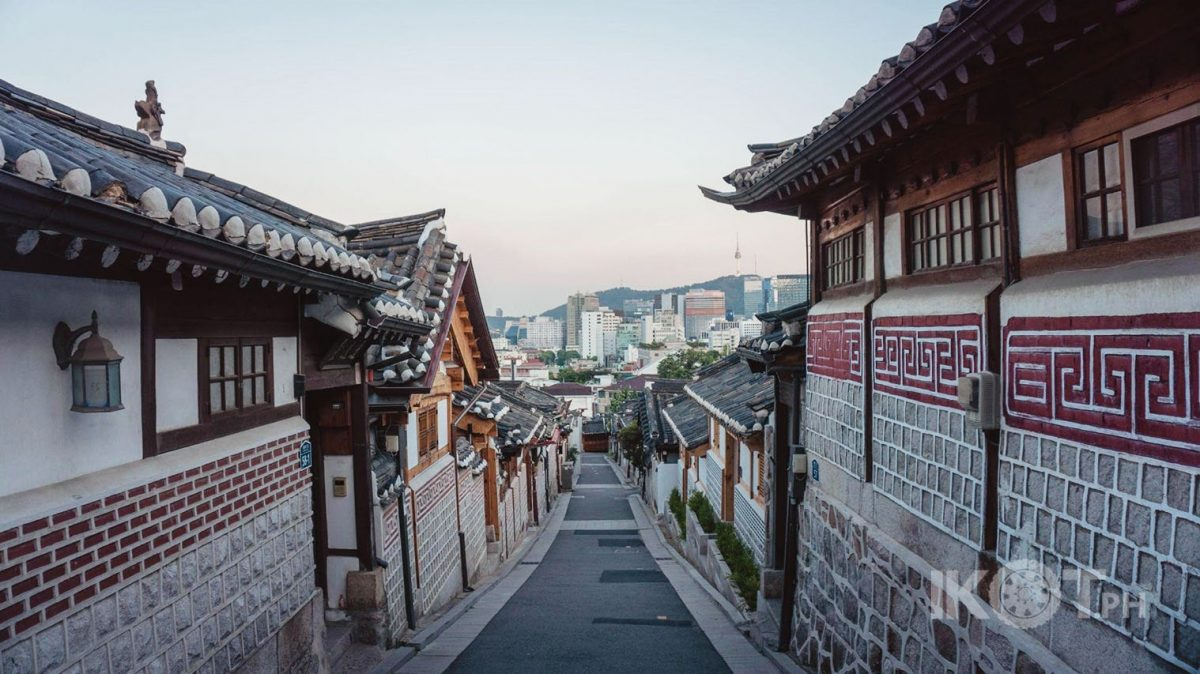 photo of a street in South Korea